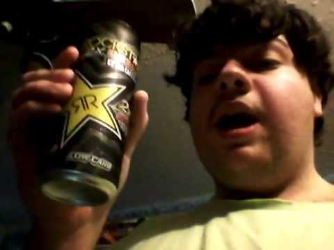 Deadcarpet Energy Drink Reviews - Rockstar 2X Energy Extra Caffeine