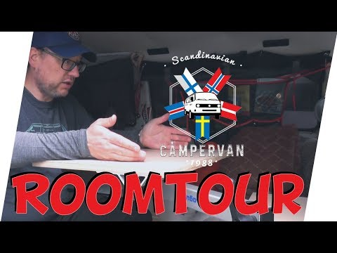 Roomtour des VW T3 Campervan Camping Bus Bulli Syncro