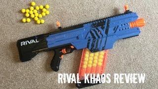 Nerf Rival Khaos MXVI-4000 Unboxing, Review & Range Test
