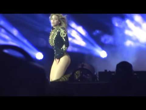 "Beyonce - Performing ""The Beautiful Ones"" live at Levi Stadium."
