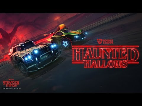 Rocket League is going Upside Down for a Stranger Things Halloween