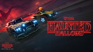 Rocket League(R) - Haunted Hallows featuring Stranger Things