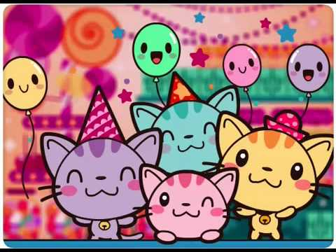 Kitty Cat Sing Happy Birthday To You