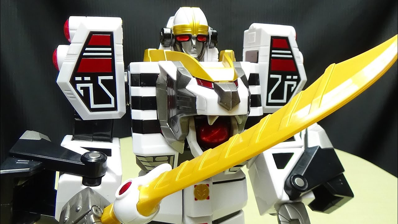Power Rangers Mighty Morphin White Tigerzord
