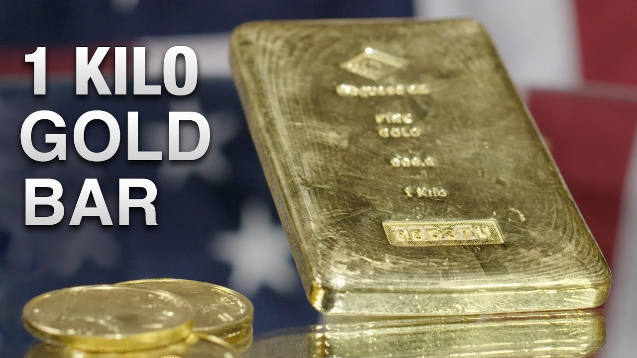 1 Kilo Gold Bar Various Mints You