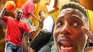 I GOT KNOCKED OUT BY SOME KID'S PLAYING DODGEBALL!!