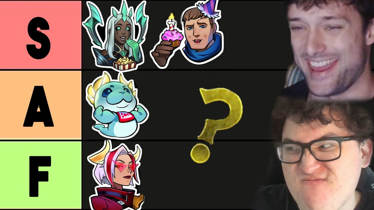 I Made an Emote Tierlist with GrappLr. Here's How it Went   Legends of Runeterra (LoR)