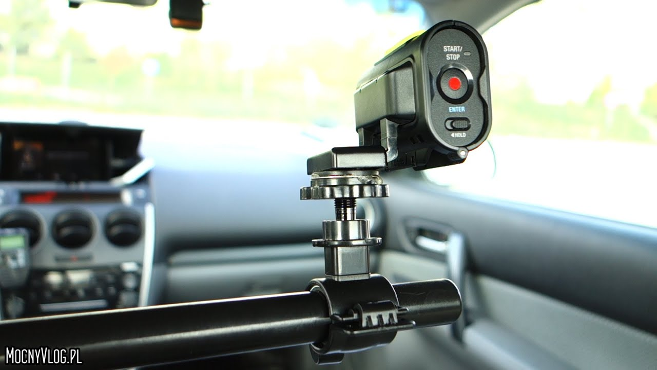 diy car camera mount for inside of car uchwyt samochodowy do kamery zr b to sam youtube. Black Bedroom Furniture Sets. Home Design Ideas