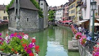 видео Достопримечательности города Анси во Франции