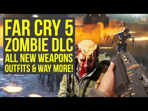 Far Cry 5 Zombies ALL NEW WEAPONS, Outfits & More For New Game Plus (Far Cry 5 Zombie DLC) thumbnail