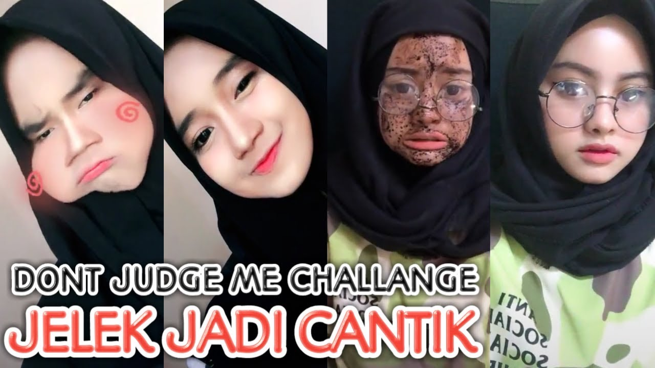 Terbaru Muka Jelek Jadi Cantik Tik Tok Indonesia Youtube