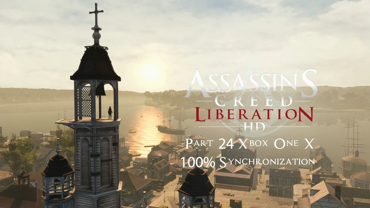 Assassin's Creed III: Liberation The Company Man | Part 24 Xbox One X 100% Synchronization