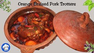Orange Braised Pork Trotters