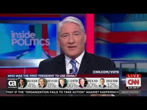 CNN panel laughs at Tim Kaine