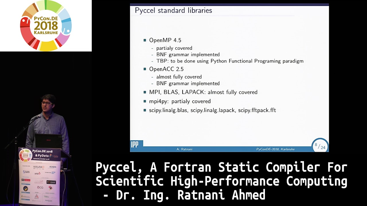 Image from Pyccel, a Fortran static compiler for scientific High-Performance Computing