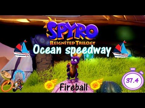 Spyro 2RT Ocean speedway Fireball 37.4 (WR)