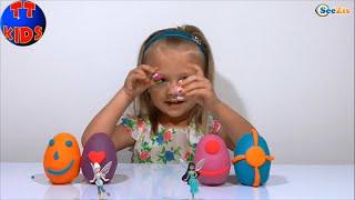 ✔ Плей До. Яйца с сюрпризом от Ярославы. Видео для девочек / Play Doh / Surprise Eggs Toy for Kids ✔