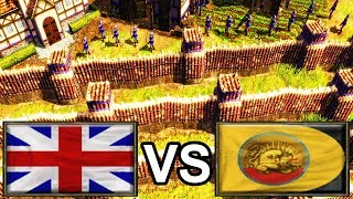 🎙️ GiveUAnxiety Walls Up Like Crazy and Goes Imperial [Age of Empires 3]