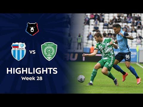 R. Volgograd Akhmat Grozny Goals And Highlights