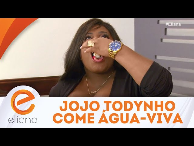Jojo Todynho come água-viva no Cardápio Surpresa | Programa Eliana (03/02/19)