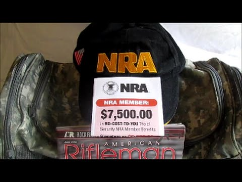NRA BASIC (ONE YEAR) MEMBERSHIP BENEFITS 2015.  YOU GET A LOT FOR A LITTLE.