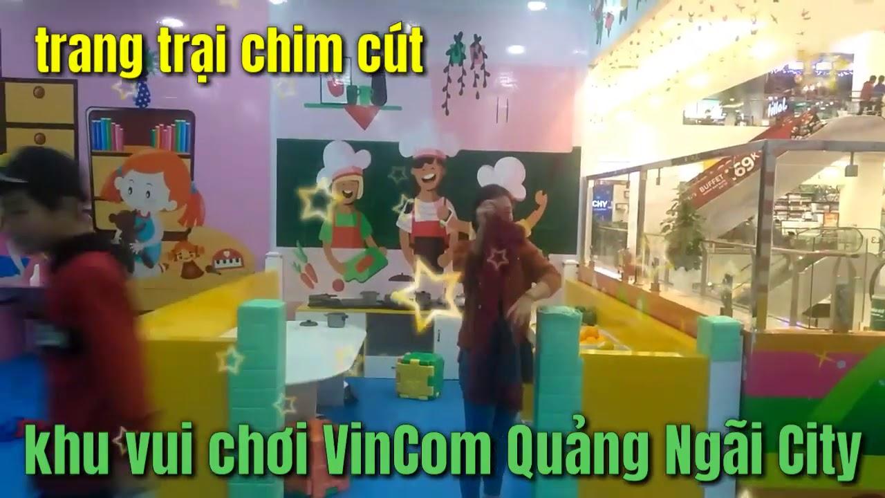Khu vui chơi siêu thị vinCom thành phố Quảng Ngãi