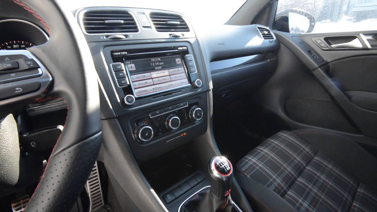 2011 Volkswagen Gti Turbo Manual Stk P2855 For Sale