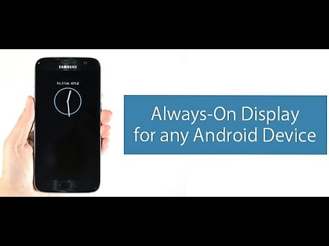 Get AMOLED© Display On Any Android Smartphone !! Always On AMOLED©....