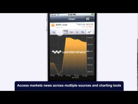 Offshore Trader for Smart phones at Investors Europe Stock Brokers