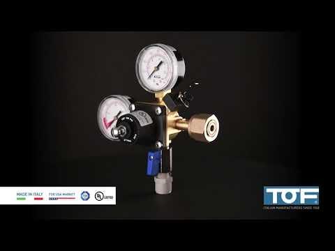 TOF UL pressure regulators for USA - 24PLH2L3U3B12