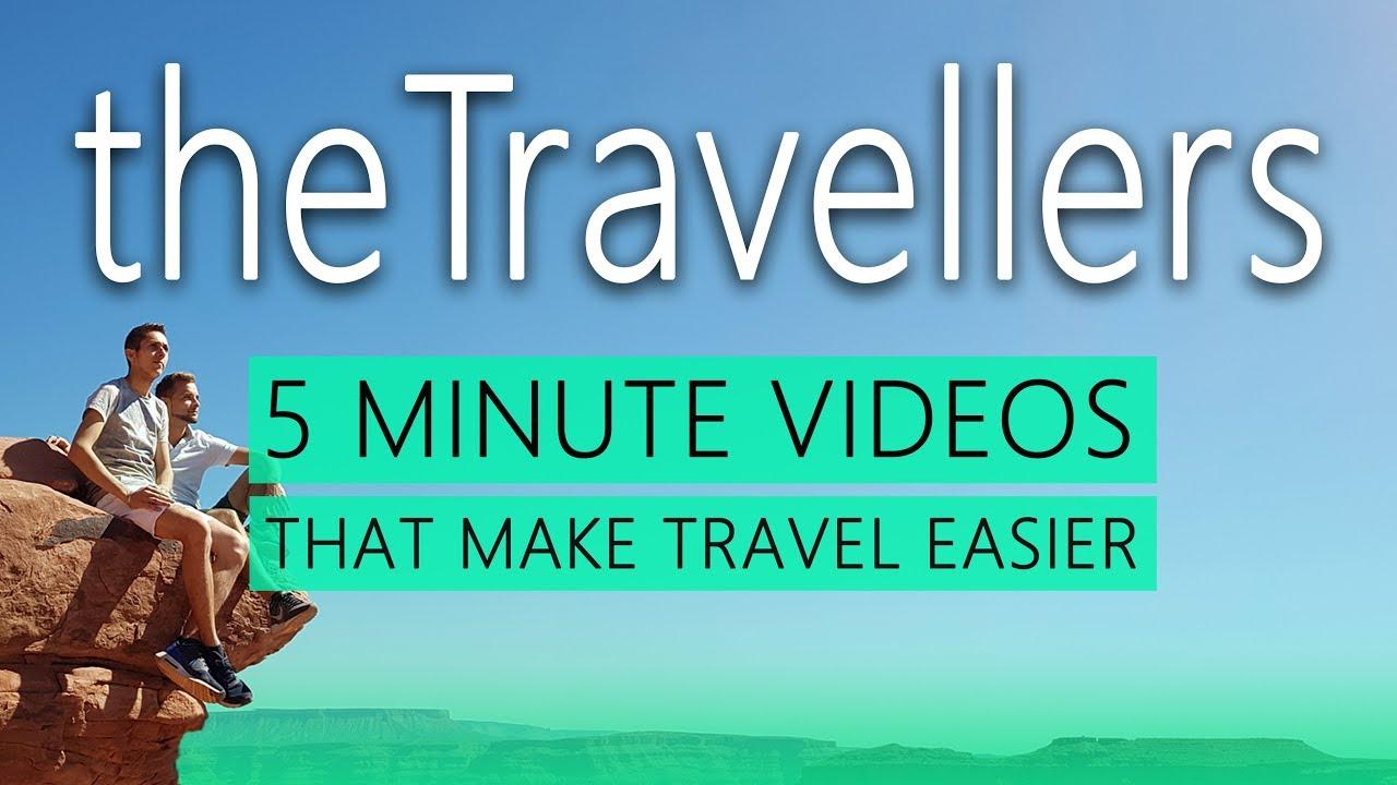 theTravellers TRAILER Travel Channel Reisen 5 MINUTE VIDEOS Travel Vlog