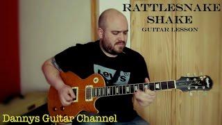 Rattlesnake Shake - Peter Green - Fleetwood Mac - Guitar Lesson