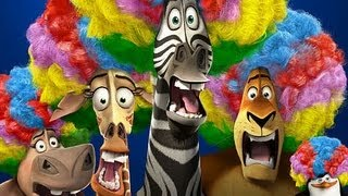 "Madagascar 3 // Afro Circus Remix - King Julien feat ""MARTYY"" the Zebra + Shuffle Intro"