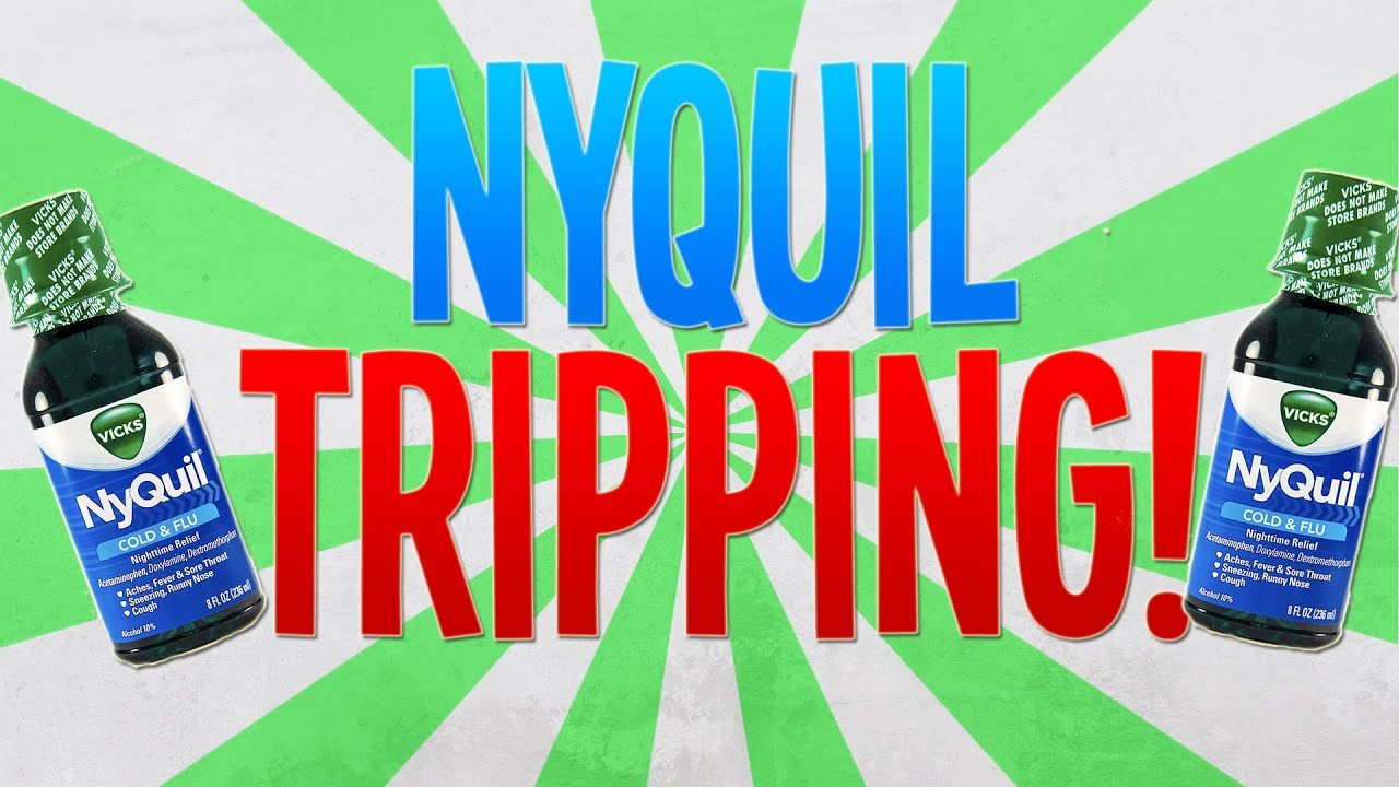 GETTING HIGH ON NYQUIL! (Do not try at home)