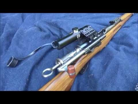 Ersatz WW1 sniper rifle project #1: background and zeroing