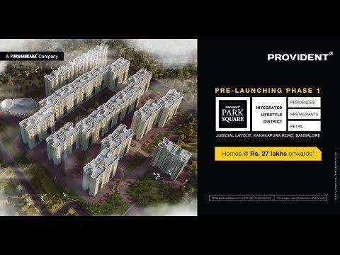 Provident Park Square 2018 Launch - Bangalore