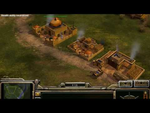 Command and Conquer Generals ZH #2 - Stealth vs Energy #1