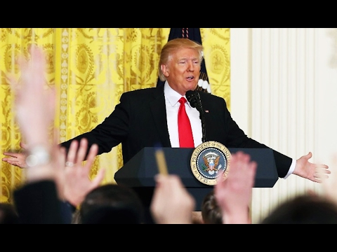 Trump's Press Conference MELTDOWN