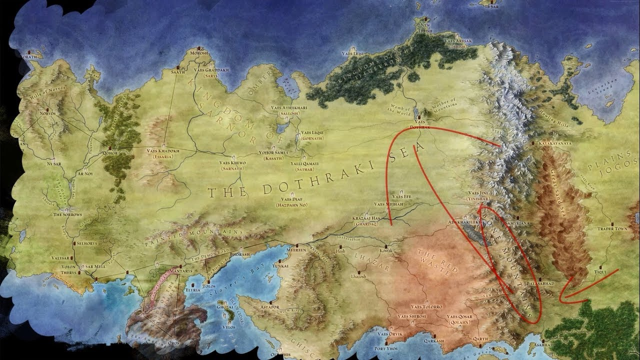 Dothraki, their History, Roots, Locations and ...