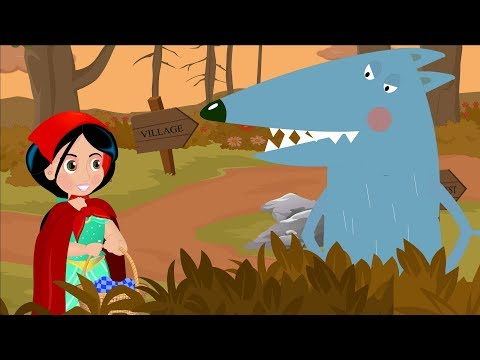 Little Red Riding Hood and The Big Bad Wolf | Kids Fairy Tales and Song