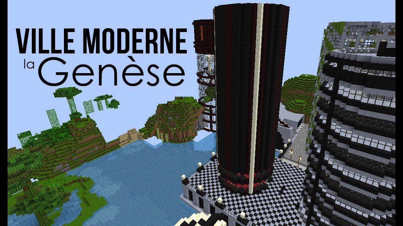 Minecraft.mdr ep 09: ville moderne la genèse 2/3   youtube