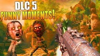 DLC 5 FUNNY MOMENTS! (BO3 ZC SHANGRI LA REMASTERED GAMEPLAY) DLC 5 Gameplay - MatMicMar