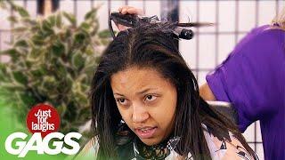 She Burnt Off Her Hair!