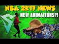 NBA 2K17 News   NEW ANIMATIONS + OLD??!!   RUNNING MAN AND MORE COMING?