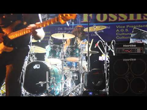 Fossil's drummer Tanmoy Das solo 2