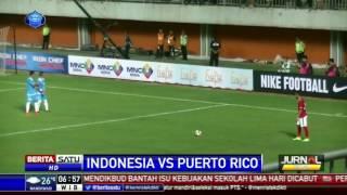 Timnas Indonesia Bermain Imbang Tanpa Gol Lawan Puerto Riko