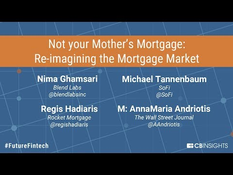 Not your Mother's Mortgage - Re-imagining the Mortgage Market