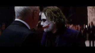 The Dark Knight - Joker Crashes Party (FULL) Scene