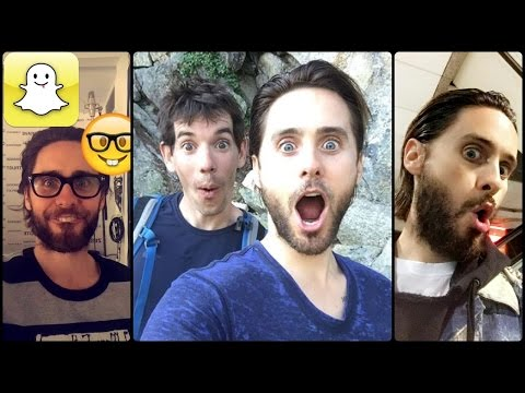 Jared Leto - Snapchat Video Compilation (Best 2016★)