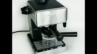 Mr. Coffee Steam Espresso & Cappuccino Maker(The Mr. Coffee Steam Espresso & Cappuccino Maker model BVMC-ECM260 is a great little espresso maker. I do have a question for you the viewer, which ..., 2013-11-27T00:14:26.000Z)